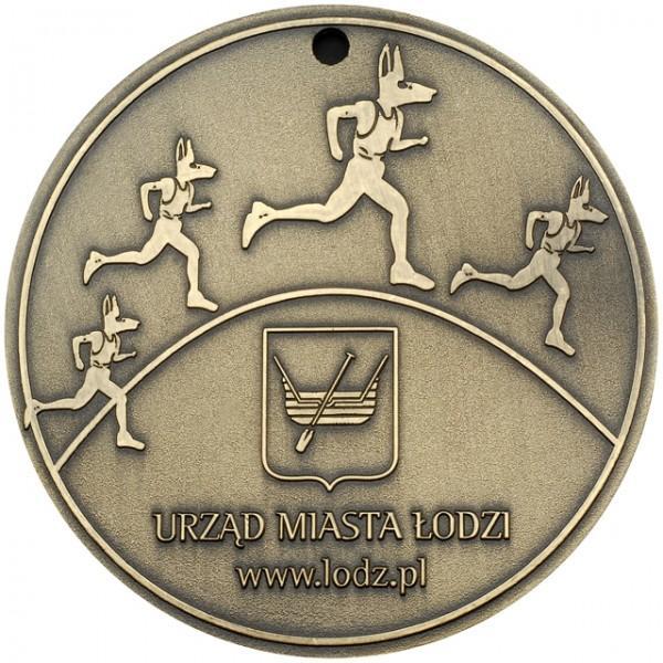Medal biegaczy Urzędu Miasta wŁodzi