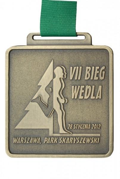 Medal zaVII Bieg Wedla wWarszawie