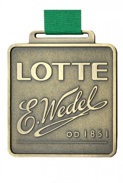 Medal LOTTE E. Wedel