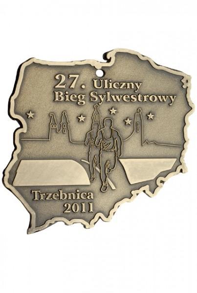 27 Uliczny Bieg Sylwestrowy zTrzebnicy 2011