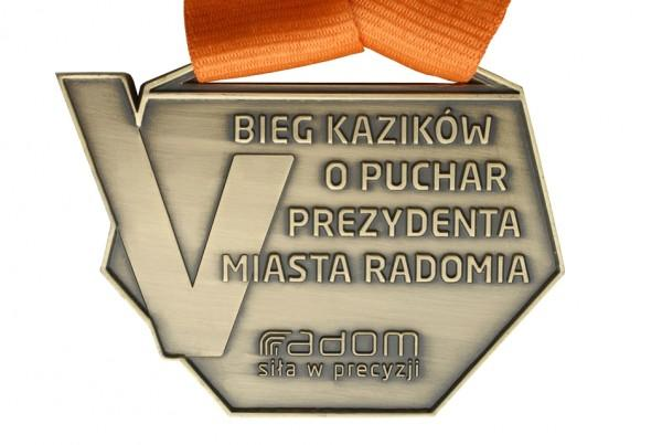 Medal zabieg kazików opuchar Prezydenta Miasta Radomia