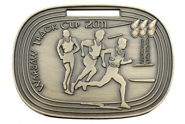 Medal zabieganie zWarsaw Track Cup 2011