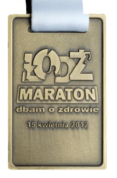 Medal zamaraton pt. dbam ozdrowie